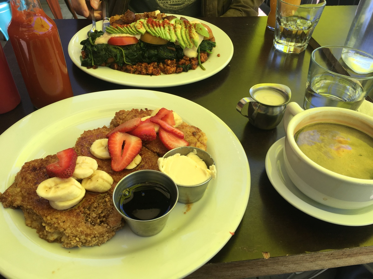 Brunch at Sage Vegan Bistro Pasadena